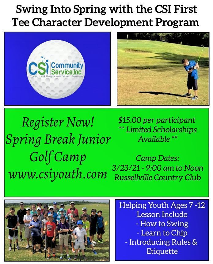 CSI Junior Golf Camp