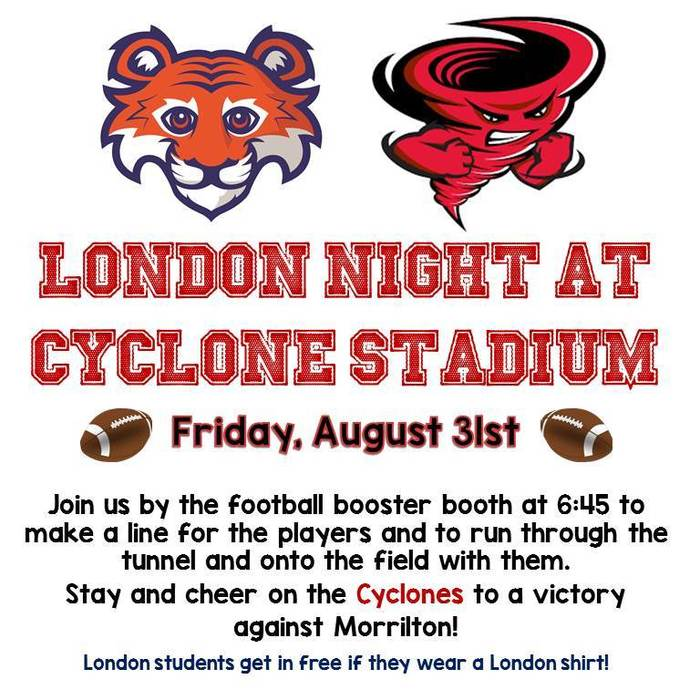 London Night at Cyclone Stadium - August 31
