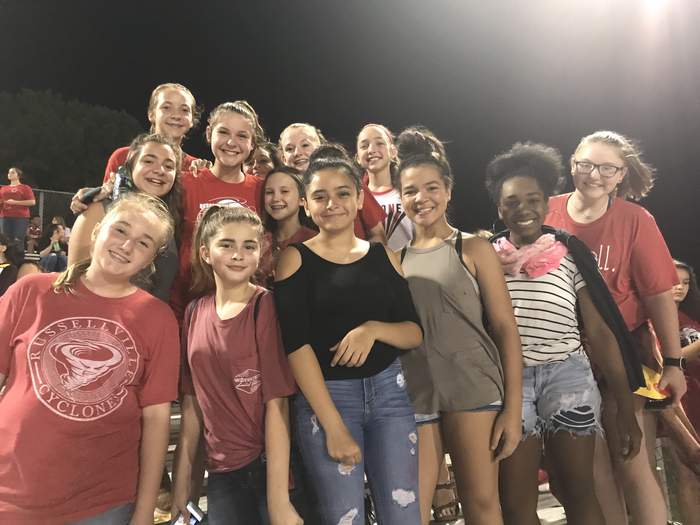 RMS students at Cyclone stadium