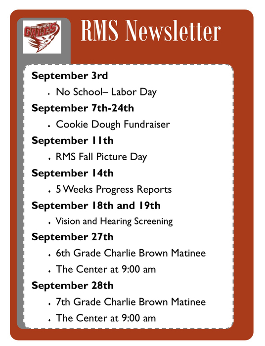 September Events.