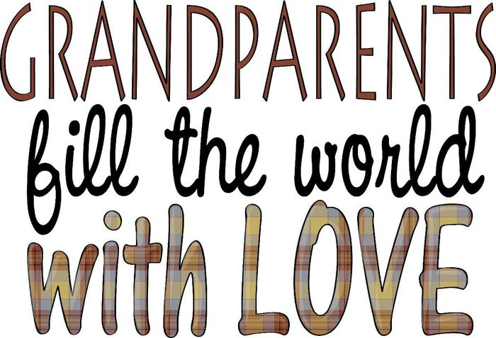 Grandparents fill the world with love