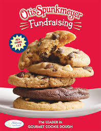 Spunkmeyer cookie dough fundraiser poster.