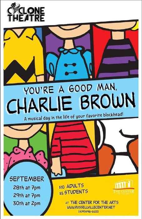 "Cyclone Theatre presents ""You're a Good Man, Charlie Brown"""