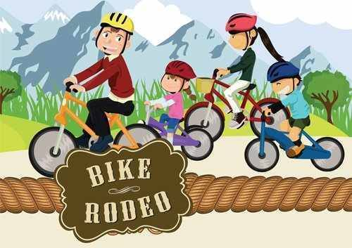 Bike Rodeo Clipart