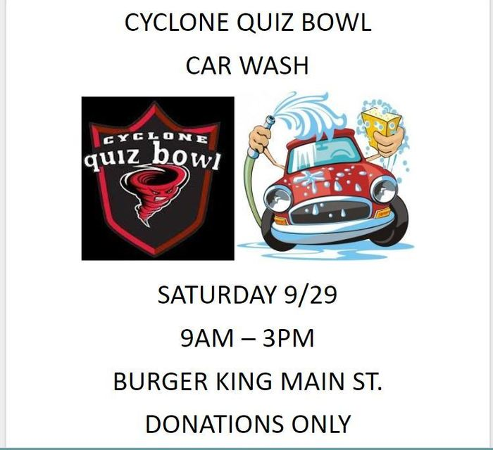 Quiz Bowl car wash