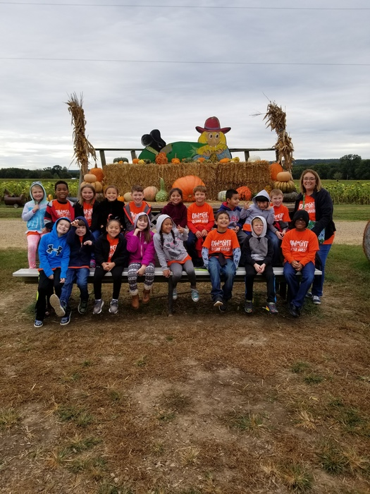 Second Grade at Pumpkin Patch