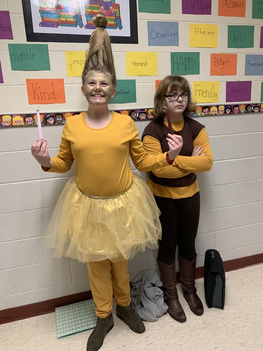Character day.