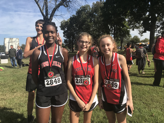 RMS CROSS COUNTRY TEAM.