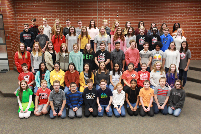 RMS All Region Choir Members.