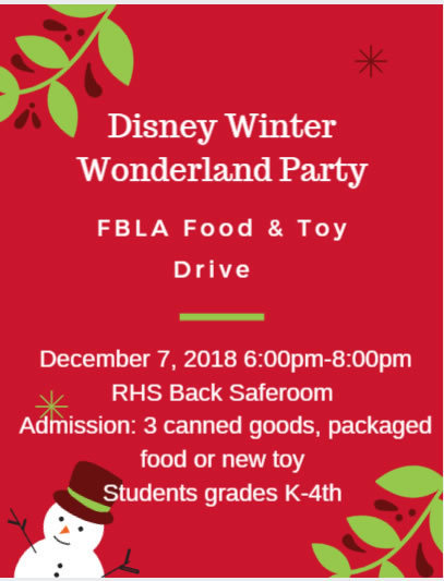 FBLA Food and Toy Drive