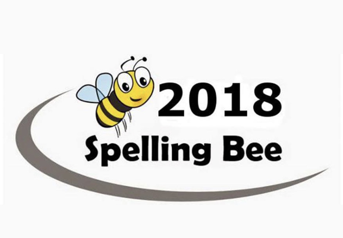 Spelling bee announcement.