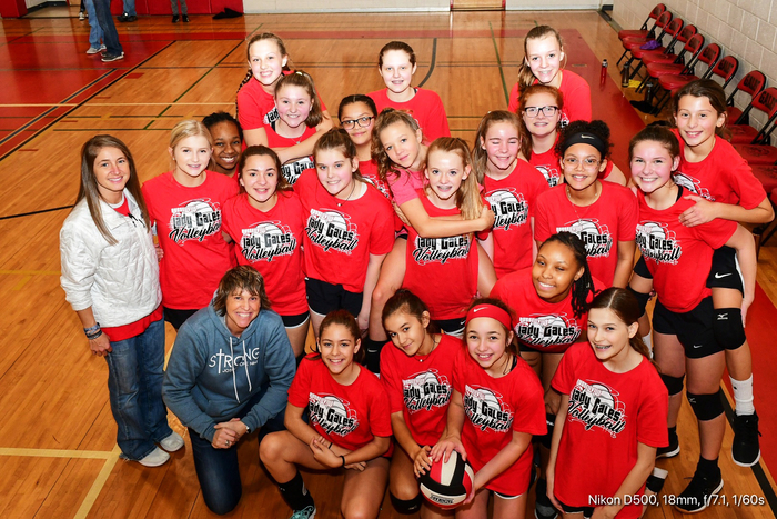 RMS Volleyball Team.