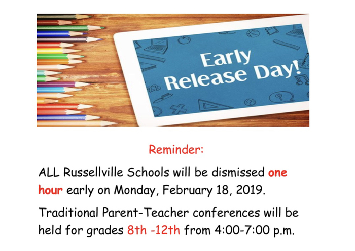 RSD revised early release announcement.