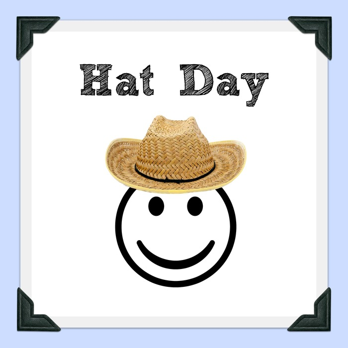 hat day clipart