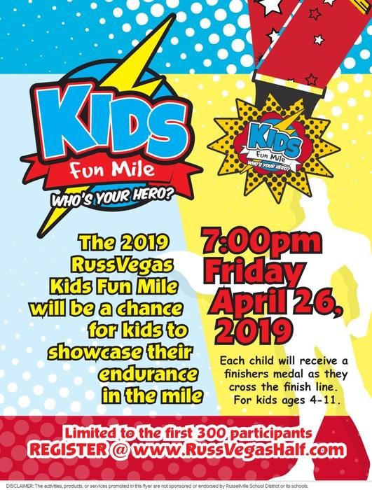 kids fun mile