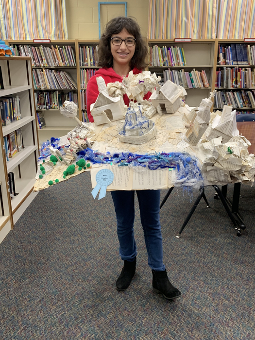 RMS book art contest winners.