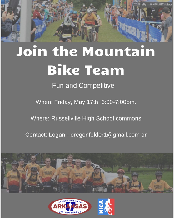 River Valley Mountain Bike Team information