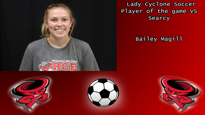 Bailey Magill player of the game.