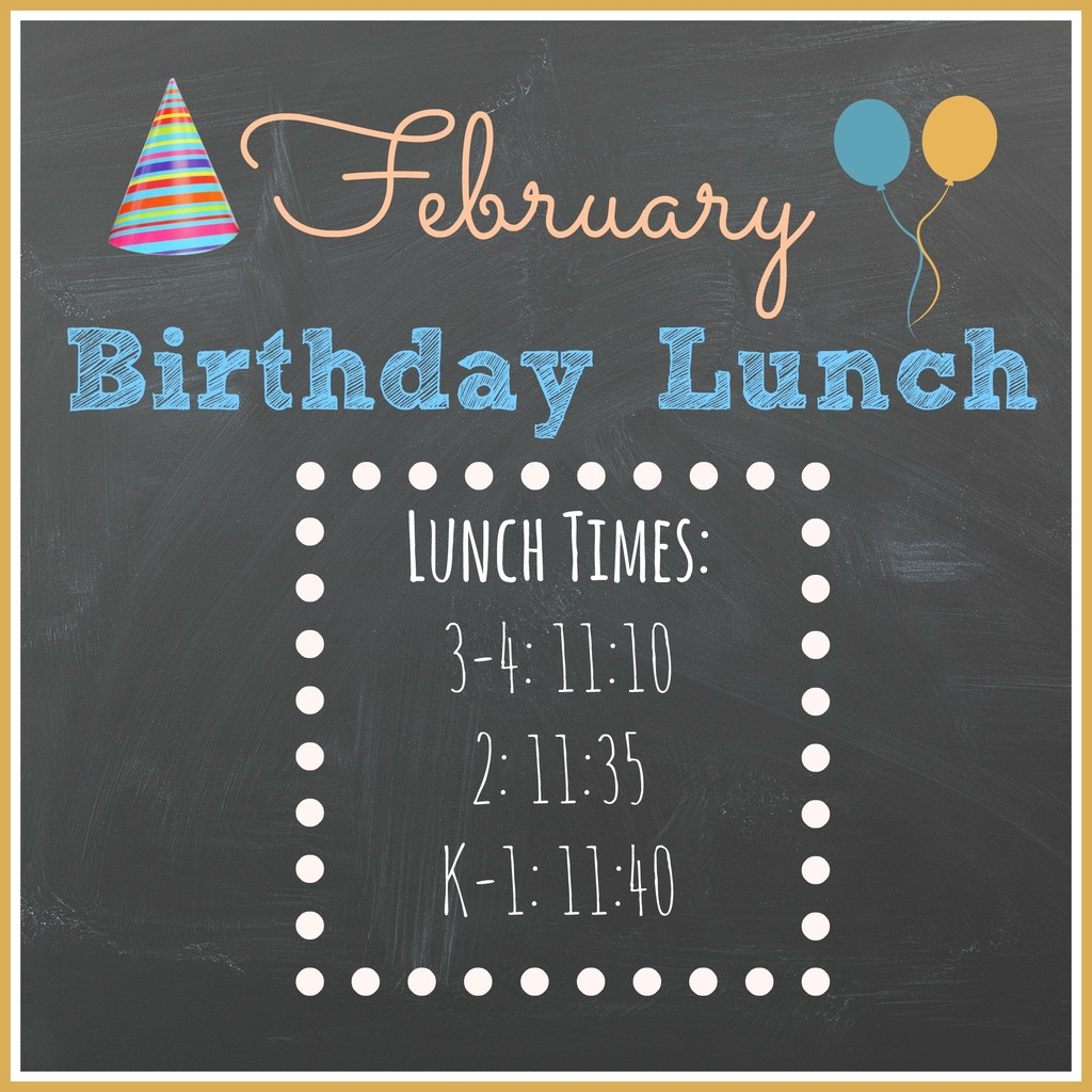Birthday Lunch Clipart