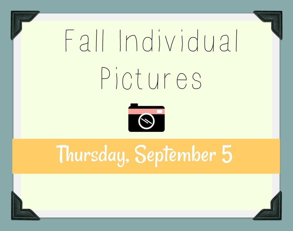 Picture Day Clipart