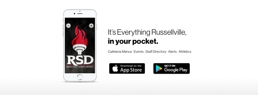 Russellville Schools District App picture.
