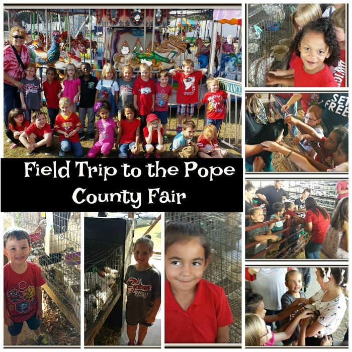Kindergarten Students at the Fair