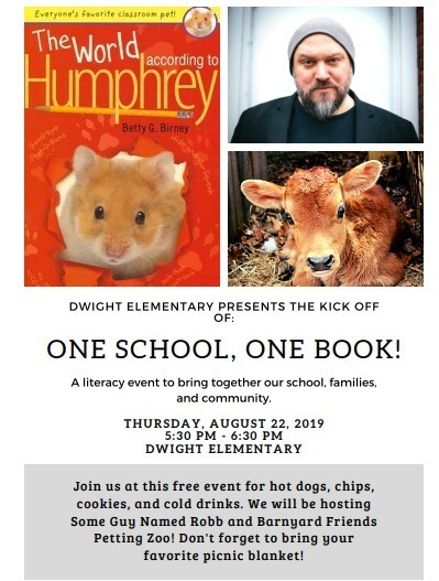 One School One Book Flyer