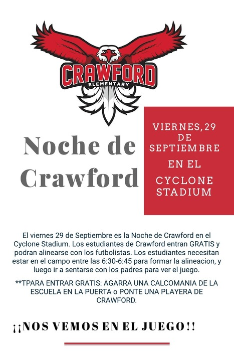 Crawford Night at Cyclone Stadium