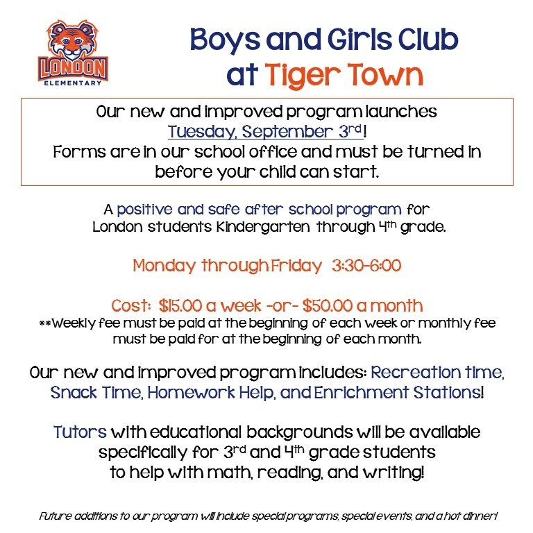 Boys and Girls Club at Tiger Town
