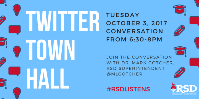 Twitter Town Hall 10-3-17 6:30pm