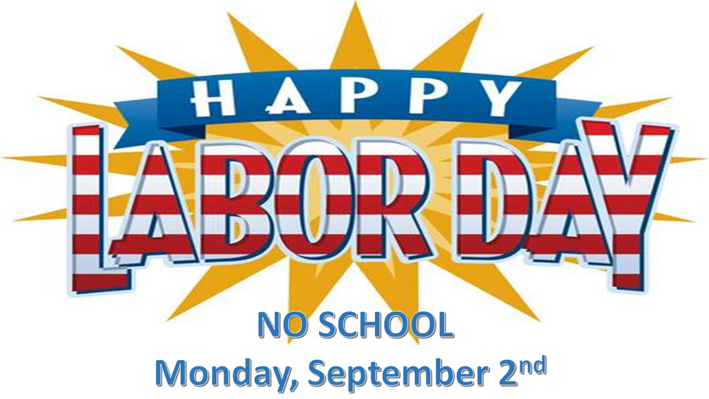 No School Labor Day