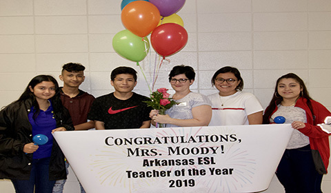 ESL Teacher of the Year