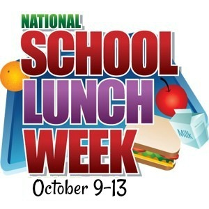 School Lunch Week Clipart