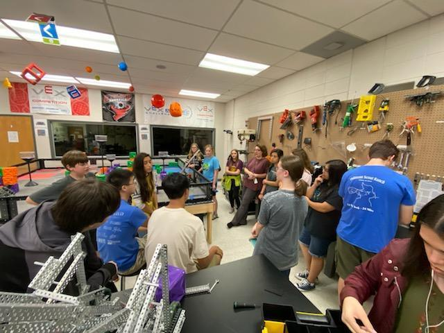 RJHS robotics learning from high school!