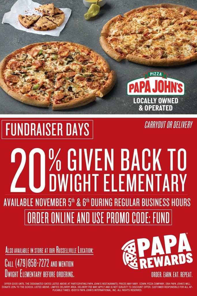 Papa John Pizza Flyer