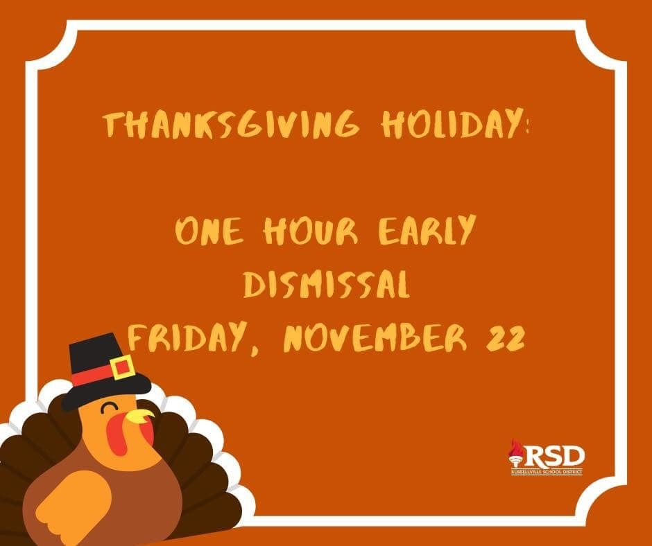 early dismissal 11-22-19