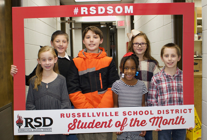RSD students of the month, November 2017.