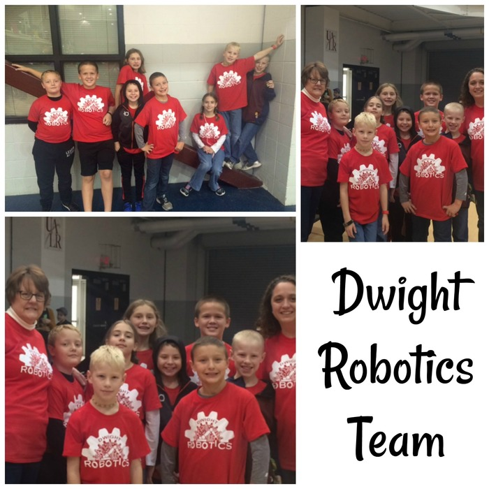 Collage of the Robotics Club students and teachers