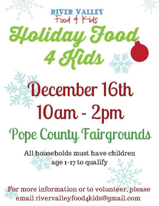 Food 4 Kids Holiday Information
