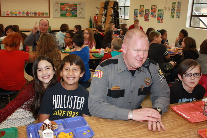 Lunch with Pope County Sheriff's Department