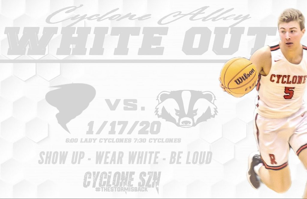 White Out Poster for basketball