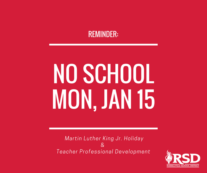 MLK No school flyer