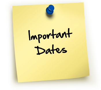 important dates image