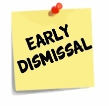 early dismissal clipart