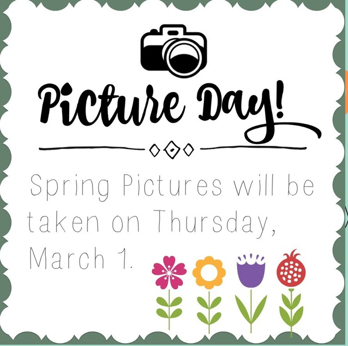 Spring Pictures Poster: Thursday, March 1, 2018