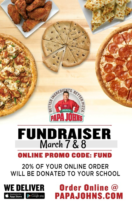 Papa John's Pizza Flyer
