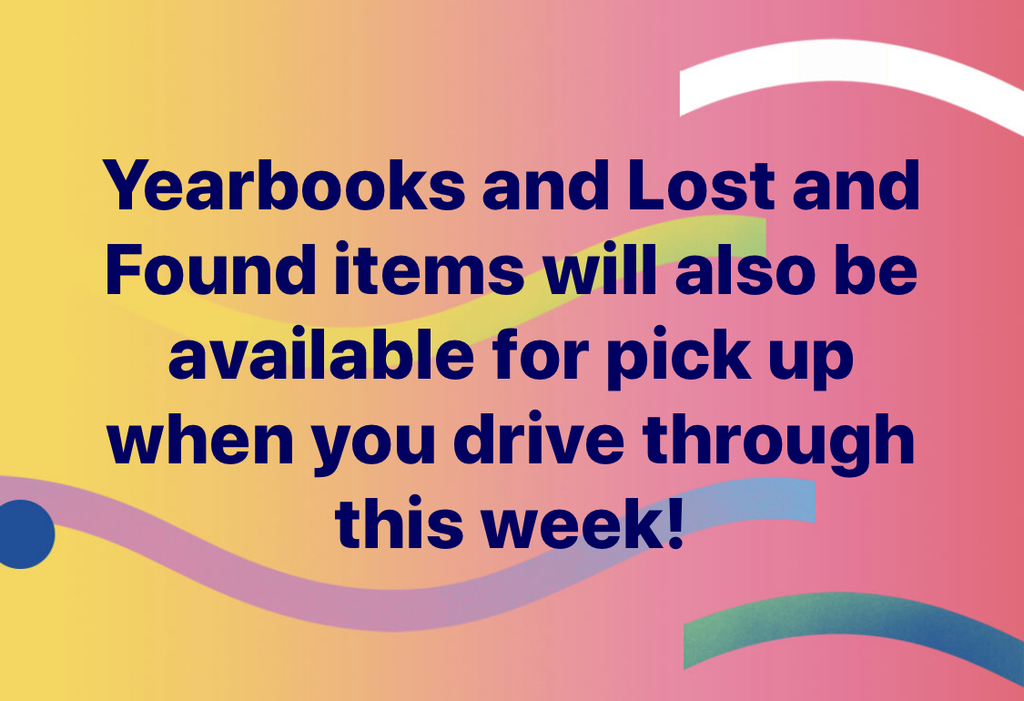 Yearbooks and Lost & Found