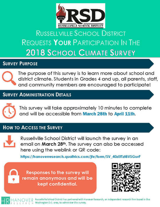 School Climate Survey Flyer