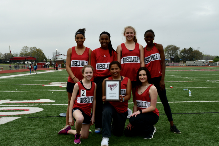 RMS Girls' Track Team