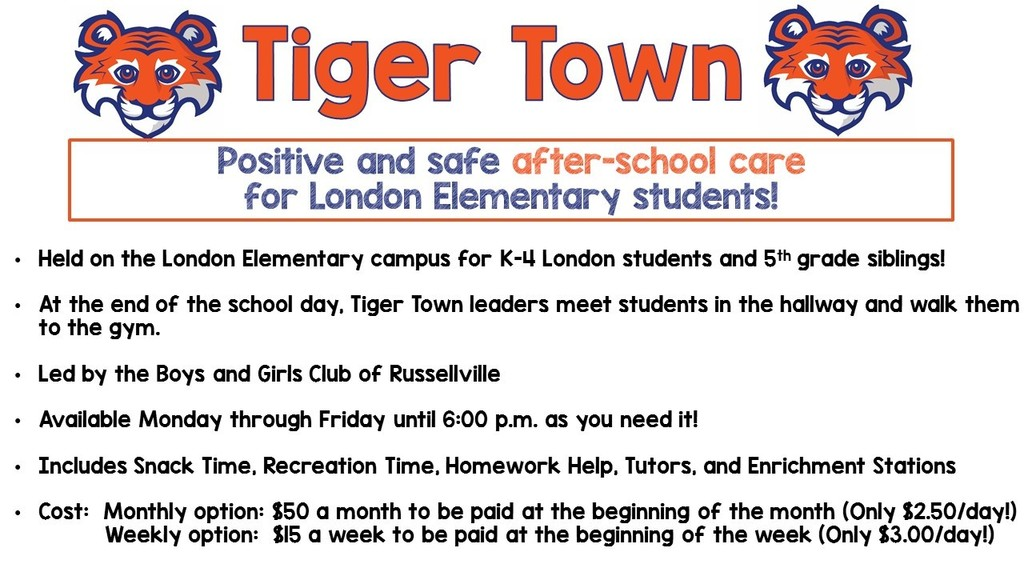 Tiger Town information